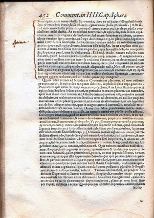 Christoph Clavius, In sphaeram Ioannis de Sacrobosco, Venecia, 1591, página 452. Colección Sala Medina, Biblioteca Nacional de Chile (reproducción de Biblioteca Nacional de Chile)