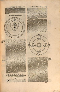 Giovanni Battista Riccioli, Almagestum novum, Boloña, 1651, página 103. (Reproducción Bayerische StaatsBibliothek digital)