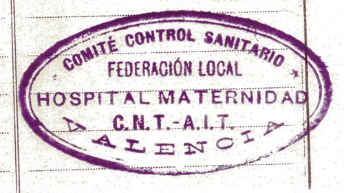 Hospital de Maternidad de la CNT. Fuente: D.6.1 caja 12. Maternidad. A.D.P.V.