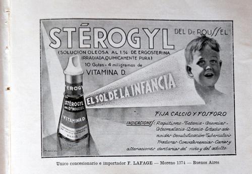 Publicidad de laboratorio «Del Dr. Russel»