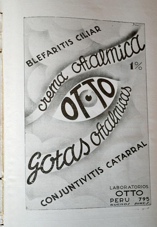 Publicidad de laboratorios «Otto»