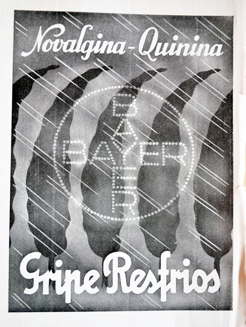 Publicidad del laboratorio «Bayer»