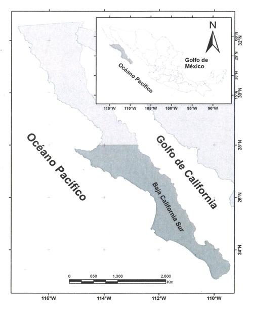 Península de Baja California Sur
