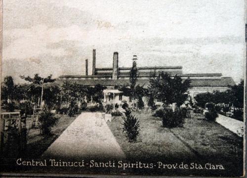 Central Tuinicú. Archivo Provincial de Las Tunas