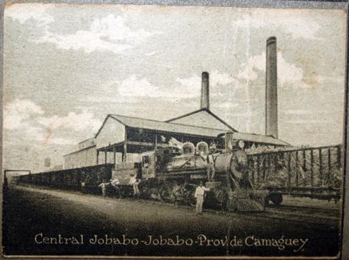 Central Jobabo. Archivo Provincial de Las Tunas