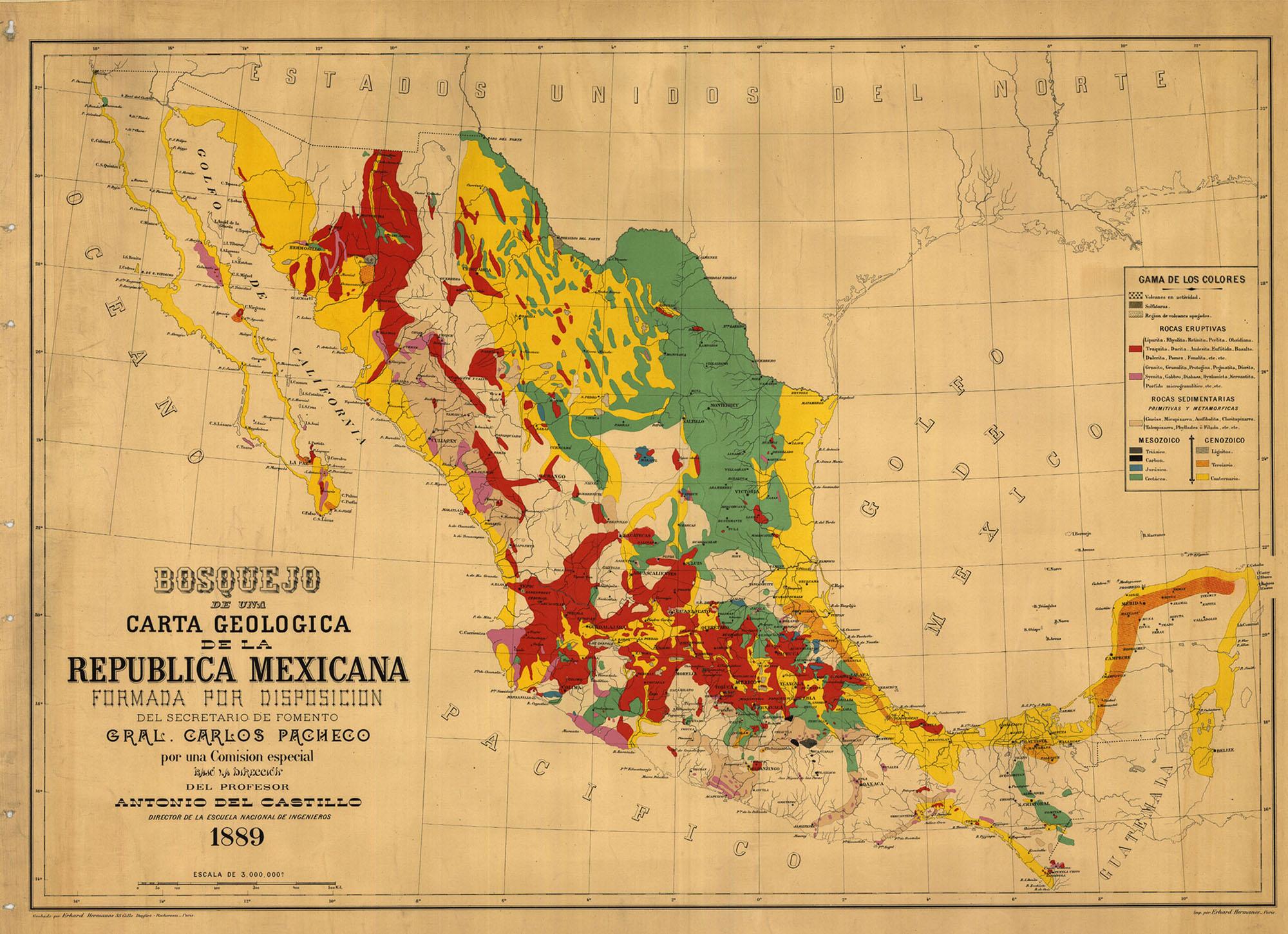 Orígenes Y Fundación Del Instituto Geológico De México Morelos