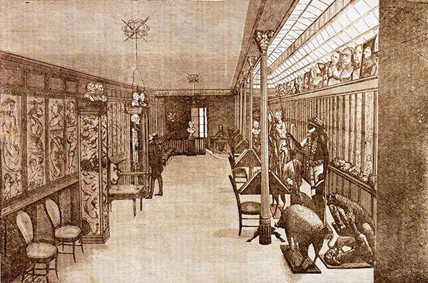 El Museo Anatómico-Patológico de Atocha 90 (El Anfiteatro Anatómico Español, nº 36, 15 de julio de 1874, p. 150)