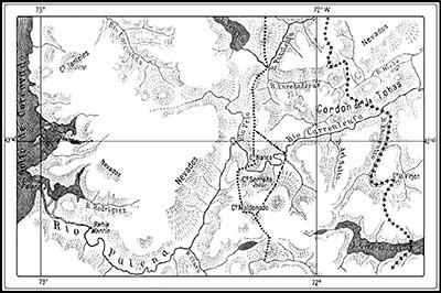 H. Steffen: Fijación de límites en el río Palena