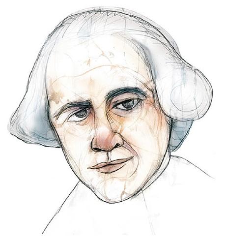 Retrato de Francesc Salvà i Campillo realizado por Eulogia Merle