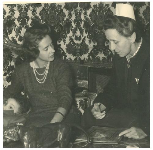 Visita de la Reina Fabiola