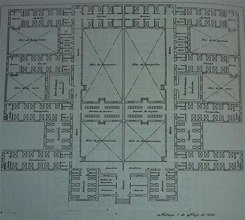 ADPM. Planta del manicomio de San Carlos, (7-5-1896), p. 5:35