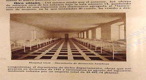 ADPM. Memoria Hospital Civil, 1931-1934, lg. 4802, p. 36. Sala Santa Rita