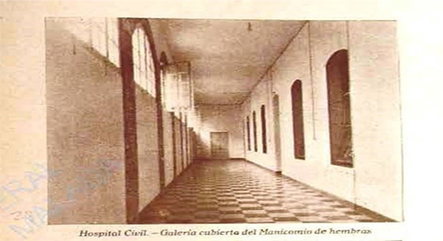 ADPM. Memoria Hospital Civil, 1931-1933, lg. 4820, p. 39. Sala Santa Rita