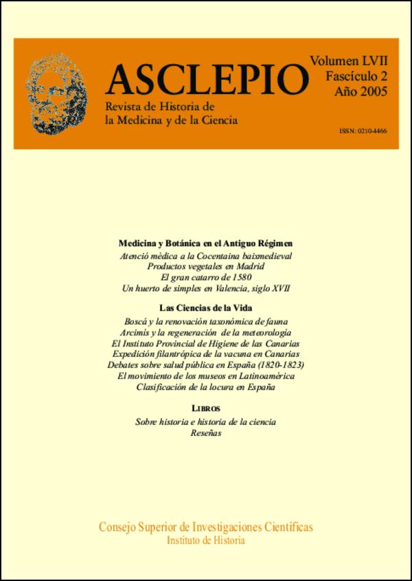 Ver Vol. 57 Núm. 2 (2005)